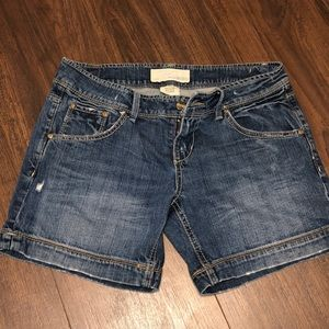 Maurice's Juniors Jean Shorts Size 3/4